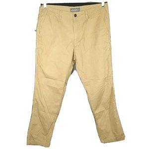 Eddie Bauer Khaki Pants Men Size 36 x 32 Tan